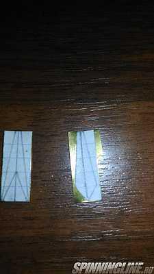 Изображение 1 : изготовление зимних блесен для ловли окуня на мелководье