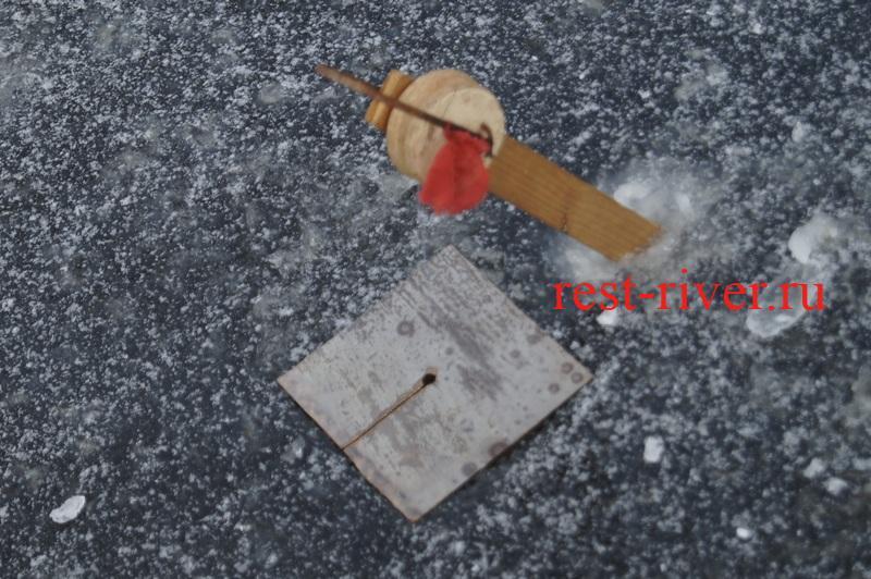 фото зимней жерлицы сделанной своими руками