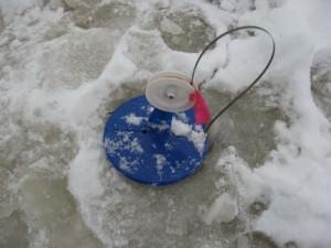 самодельная зимняя жерлица на щуку