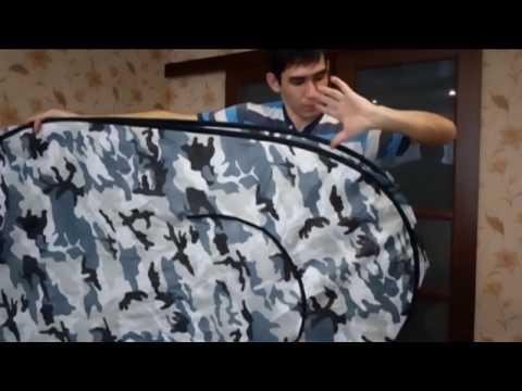 Как быстро и без проблем собрать китайскую палатку автомат