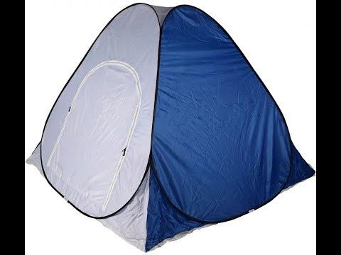 Как складывать палатку для зимней рыбалки и ее ремонт