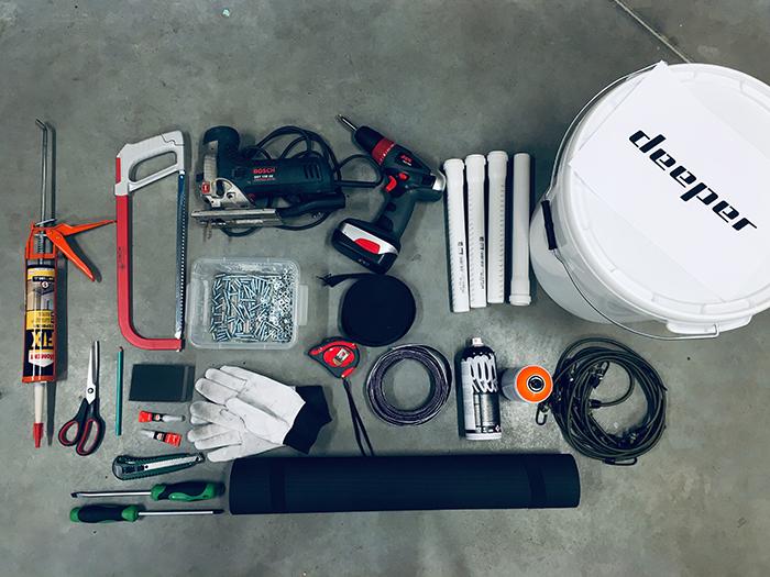 equipment for ice bucket