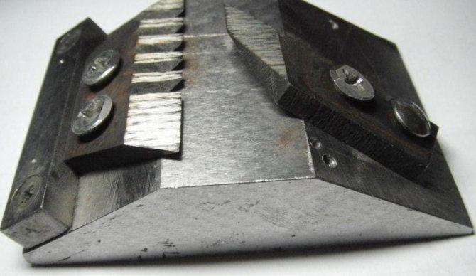 Станок для заточки ножей для ледобура
