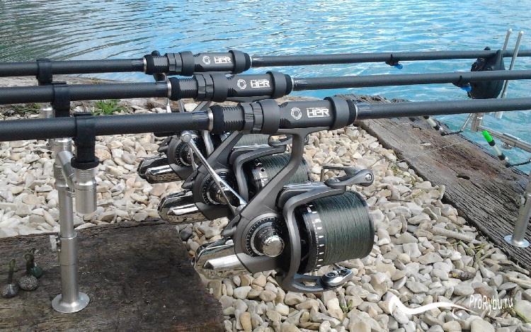 Классификация удилищ для карповой рыбалки