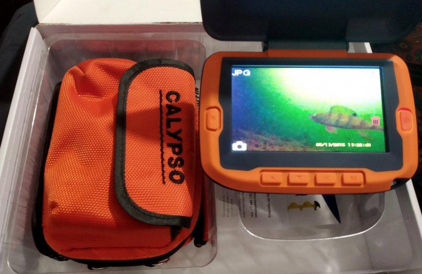 Камера для зимней рыбалки Calypso UVS 02