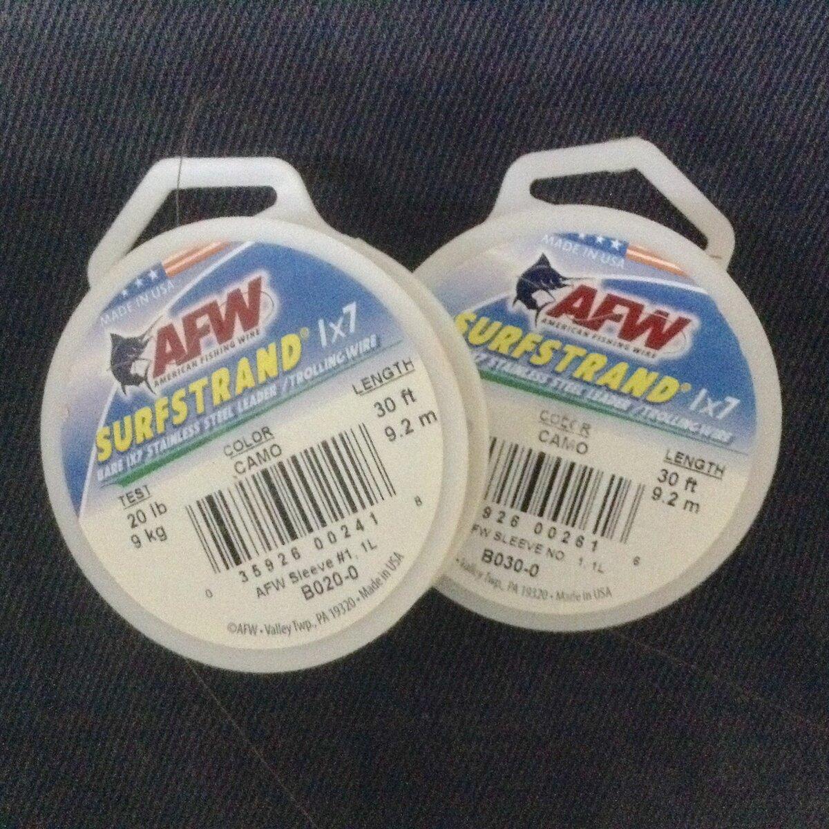 Поводковый материал AFW
