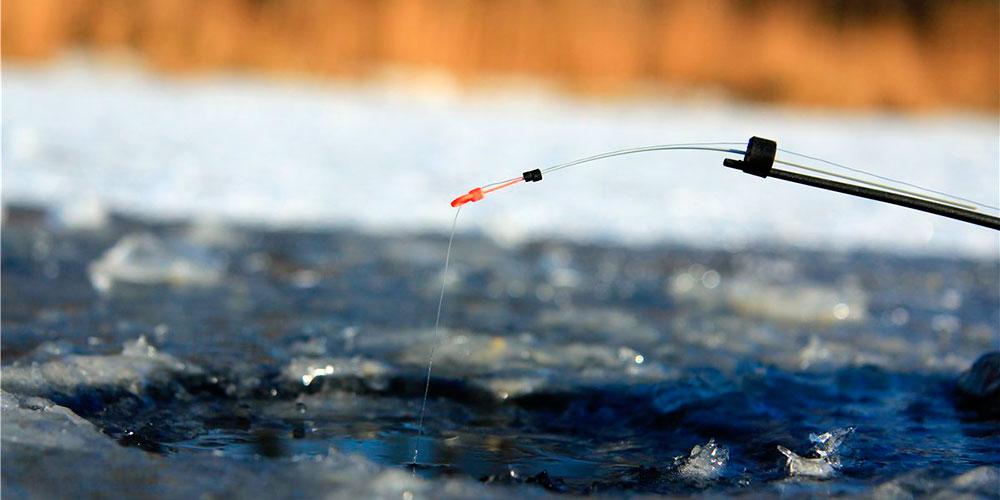 Зимняя удочка для рыбалки на карася